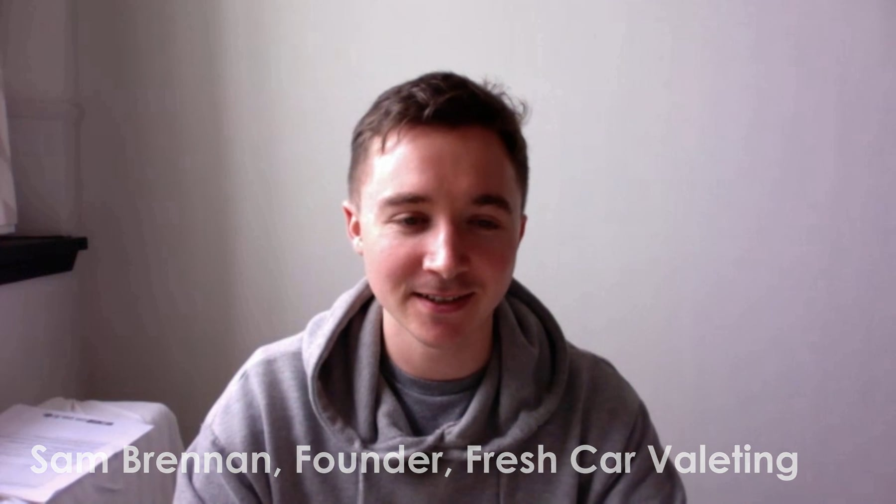 Video Thumbnail Of Sam Brennan, Fresh Car Valeting